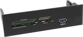 InLine Multi-Slot-Cardreader, USB 3.0 19-Pin Stecksockel [Stecker] (33394M)