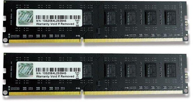 G.Skill NT Series DIMM Kit 8GB, DDR3-1333, CL9-9-9-24 (F3-10600CL9D-8GBNT)