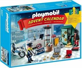 playmobil Weihnachten - Adventskalender Polizeieinsatz im Juweliergeschäft (9007)