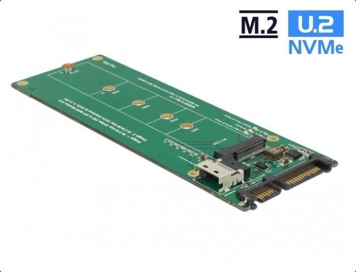 DeLOCK SFF-8654 / SATA > M.2 PCIe / M.2 SATA (63953)