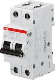 ABB Sicherungsautomat S200M, 2P, B, 40A (S202M-B40UC)