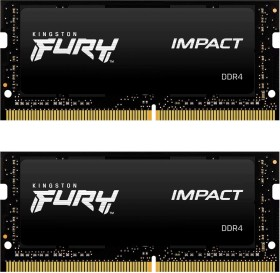 Kingston HyperX Impact SO-DIMM Kit 32GB, DDR4-3200, CL20-22-22 (HX432S20IBK2/32)