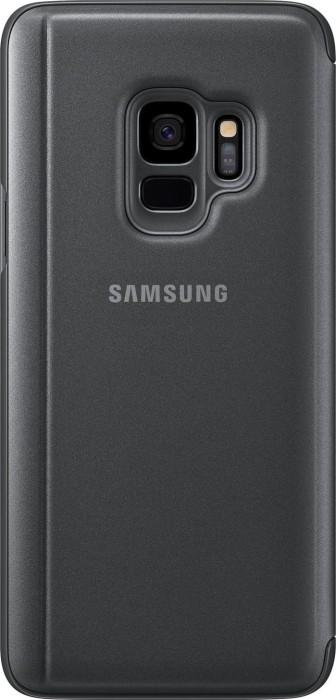 Samsung Clear View Standing Cover für Galaxy S9 schwarz (EF-ZG960CBEGWW)