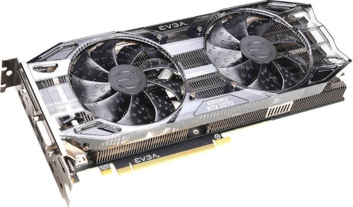 EVGA GeForce RTX 2070 Black, 8GB GDDR6, DVI, HDMI, 2x DP, USB-C (08G-P4-1071-KR)