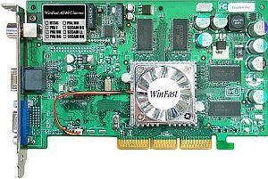 Leadtek WinFast A340 Cinema, GeForceFX 5200 (5500), 128MB DDR, tuner TV, ViVo, AGP