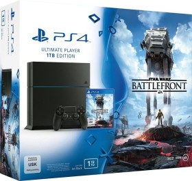 Sony PlayStation 4 - 1TB Star Wars: Battlefront Bundle schwarz
