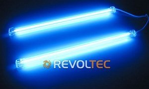 Revoltec CCF/Cold cathode tubes Twin set blue, 30cm (RM023)