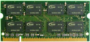TeamGroup SO-DIMM 2GB PC2-6400S CL5-5-5-15 (DDR2-800) (TSDD2048M800C5-E)