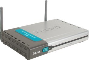 D-Link AirPlus DI-714P+ Router/Print Server