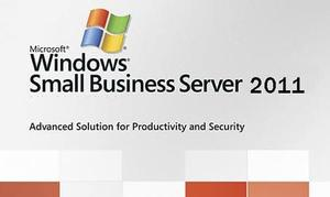 Microsoft: Windows Small Business Server 2011 64bit SB/OEM, incl. 25 User CAL (French) (PC) (2VG-00203)