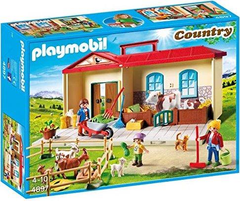 playmobil country  mitnehmbauernhof  preisvergleich