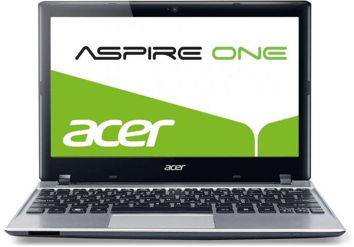 Acer Aspire One 756 silber, Pentium 987, 4GB RAM, 500GB HDD, ohne Betriebssystem, glare (NU.SGTEG.005)
