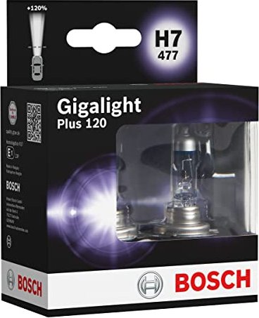 Bosch Gigalight Plus 120 H7 55W, 2-pack (1 987 301 107) -- via Amazon Partnerprogramm