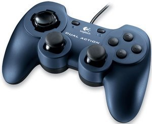 Logitech Dual Action Gamepad, USB (PC) (963292-0914)