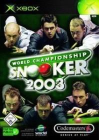 World Championship Snooker 2004 (Xbox)