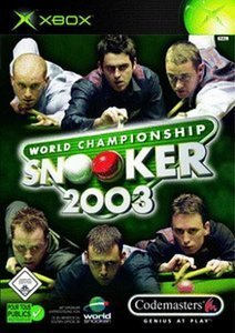 World Championship Snooker 2004 (German) (Xbox)