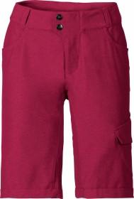 VauDe Tremalzo Shorts II Fahrradhose kurz crimson red (Damen) (40507-977)
