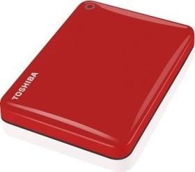 Toshiba Stor.E Canvio Connect II rot 500GB, USB 3.0 Micro-B (HDTC805ER3AA)