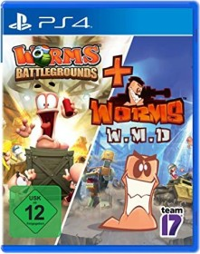 Worms: Battlegrounds & Worms: WMD (PS4)