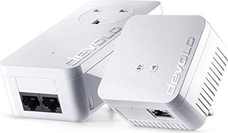 devolo dLAN wireless extender starter kit, 85Mbps, LAN/WLAN 54Mbps (01213)