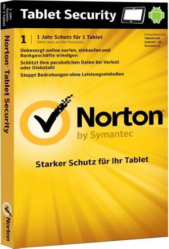 Symantec: Norton Tablet Security 2.0, 1 User (deutsch) (PC) (21210375) -- via Amazon Partnerprogramm