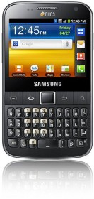 Samsung Galaxy Y Pro Duos B5512 mit Branding