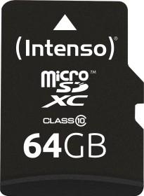 Intenso R20/W12 microSDXC 64GB Kit, Class 10 (3413490)