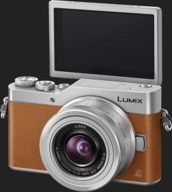 Panasonic Lumix DC-GX800 braun mit Objektiv Lumix G Vario 12-32mm 3.5-5.6 ASPH OIS (DC-GX800K-T)