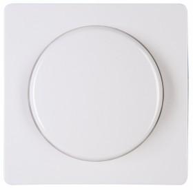 Kopp HK05 Dimmer-Abdeckung für Druck-Wechseldimmer, arktisweiß (333702006)