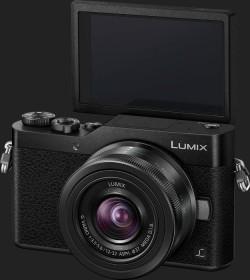 Panasonic Lumix DC-GX800 schwarz mit Objektiv Lumix G Vario 12-32mm OIS und 35-100mm OIS (DC-GX800W-K)