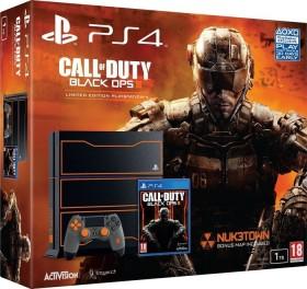 Sony PlayStation 4 - 1TB Call of Duty: Black Ops III Limited Edition Bundle schwarz/orange