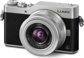 Panasonic Lumix DC-GX800 silber mit Objektiv Lumix G Vario 12-32mm OIS und 35-100mm OIS (DC-GX800W-S)