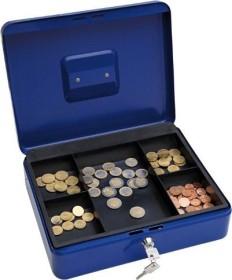 Wedo Geldkassette Größe 4 blau (145 403X)