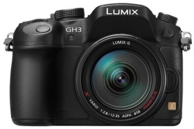 Panasonic Lumix DMC-GH3 schwarz mit Objektiv Lumix G X Vario 12-35mm 2.8 ASPH OIS (DMC-GH3A)