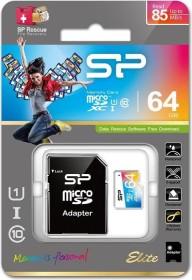 Silicon Power Elite R85/W15 microSDXC 64GB Kit, UHS-I U1, Class 10 (SP064GBSTXBU1V20SP)