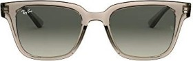 Ray-Ban RB4323 51mm transparent grey/grey gradient (RB4323-644971)