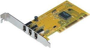 Q-Tec 510F, 3x FireWire, PCI (12882)