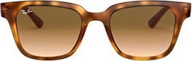 Ray-Ban RB4323 51mm tortoise/light brown gradient (RB4323-647551)