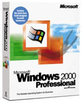 Microsoft: Windows 2000 Professional OEM/DSP/SB (englisch) (PC) (B23-03876)
