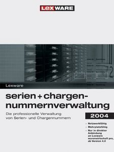 Lexware series- and Chargennummernverwaltung 2004 (PC) (08861-0001)