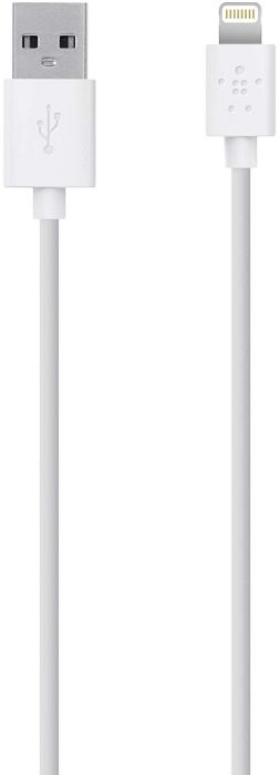 Belkin Lightning/USB Adapterkabel 2m, weiß (F8J023BT2M-WHT)
