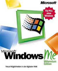 Microsoft: Windows ME (Millennium Edition) full version (English) (PC) (C83-00007)