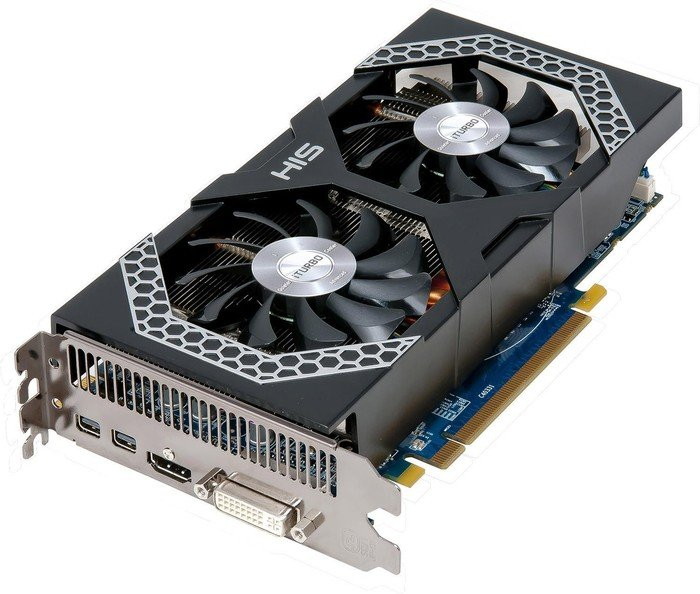 HIS Radeon R9 270X Mini IceQ X² Boost Clock, 2GB GDDR5, DVI, HDMI, 2x Mini DisplayPort (H270XQMS2G2M)