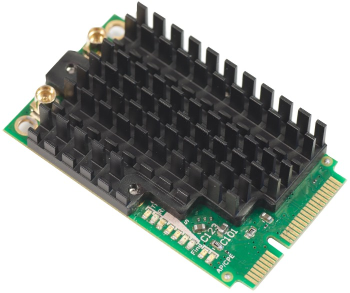 MikroTik RouterBOARD WLAN-Adapter, 5GHz WLAN, PCIe Mini Card (R11e-5HnD)