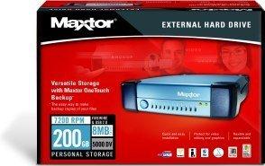 Maxtor External Storage 5000DV 200GB, USB2.0/FireWire (T14P200)