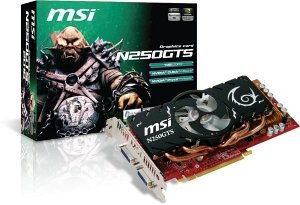 MSI N250GTS-2D1G, GeForce GTS 250, 1GB DDR3, 2x DVI (V154-017R)