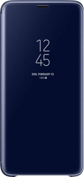 Samsung Clear View Standing Cover für Galaxy S9+ blau (EF-ZG965CLEGWW)