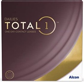 Alcon Dailies Total 1, +4.00 Dioptrien, 90er-Pack