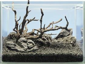 sera Scaper Cube 48, Hardscape-Set Shrimp (32335)