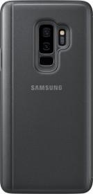 Samsung Clear View Standing Cover für Galaxy S9+ schwarz (EF-ZG965CBEGWW)